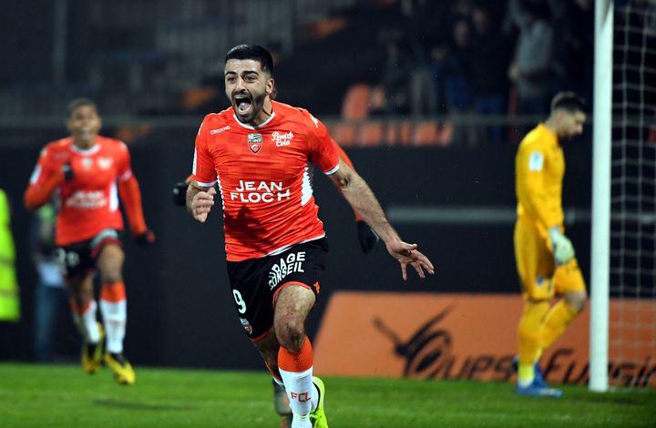 Umut Bozok retourne au FC Lorient après avoir été prêté à Troyes. (NICOLAS CREACH / MAXPPP)