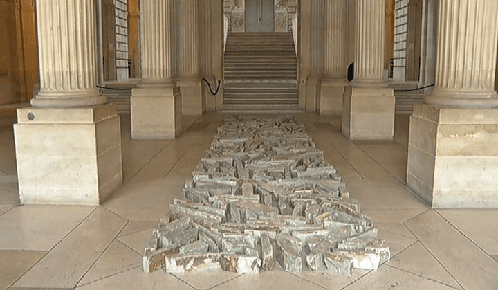 Oeuvre de Richard Long  (France 3 / Culturebox )