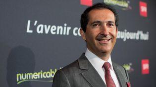 Patrick Drahi, patron d'Altice,maison-mère de Numericable-SFR, le 7 avril 2014 à Paris. (ROMUALD MEIGNEUX / SIPA)