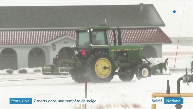 États-Unis : la tempête de neige Eboni a fait sept victimes