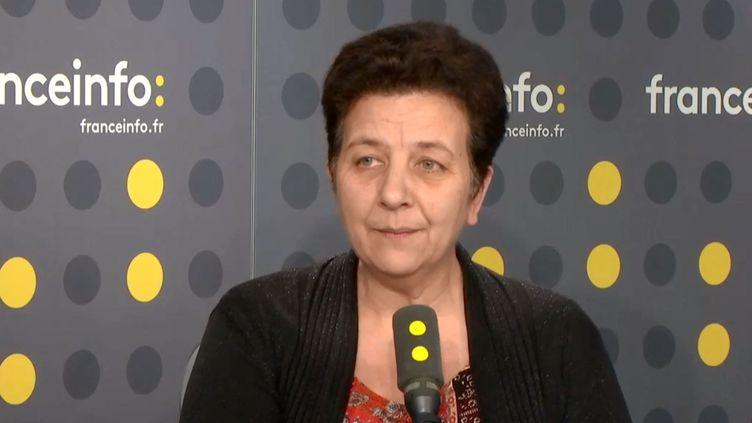 Frédérique vidal, la ministre de l'Enseignement supérieur sur franceinfo, jeudi 29 mars. (RADIO FRANCE)