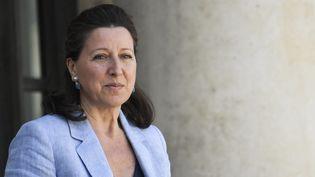La ministre de la Santé Agnès Buzyn à l'Elysée à Paris, le 27 avril 2018. (ERIC FEFERBERG / AFP)