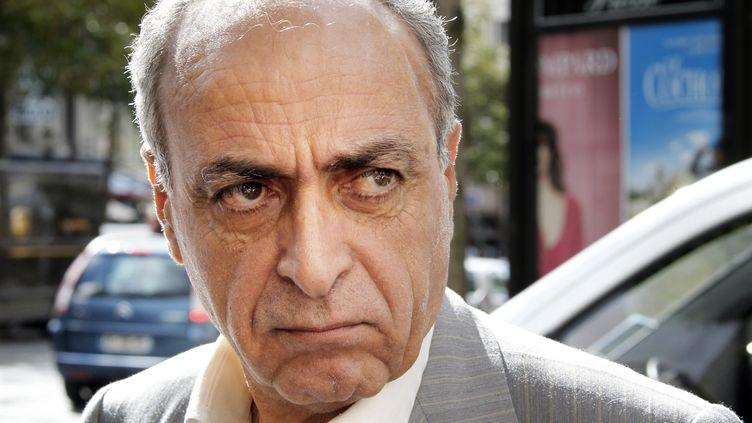 L'homme d'affaires franco-libanais Ziad Takieddine à Paris, le 14 septembre 2011. (THOMAS SAMSON / AFP)