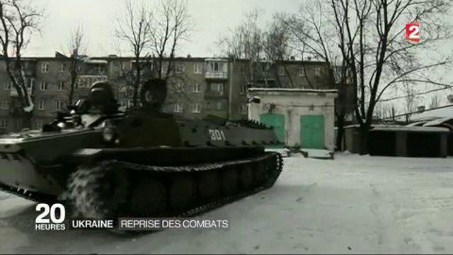 Ukraine : reprise des combats