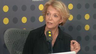 Frédérique Bredin invitée de l'info médias le jeudi 27 juin. (FRANCEINFO / RADIOFRANCE)