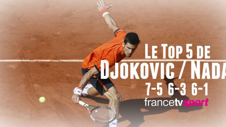 Djokovic en passe d'aller chercher la couronne