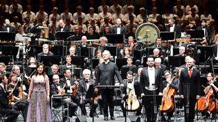 Orchestre National de Lille au stade Pierre Mauroy  (PHOTOPQR/VOIX DU NORD)