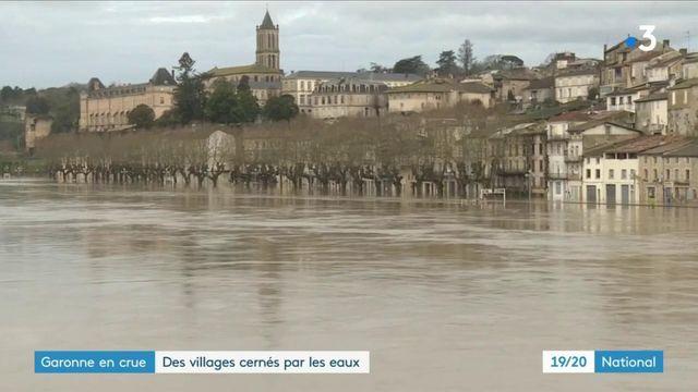 Intempéries dans le Sud-Ouest : des villages piégés par les eaux