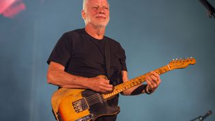 David Gilmour joue à Pula en Croatie le 12 septembre 2015. (BRIAN RASIC / WIREIMAGE)