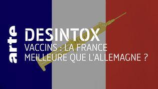 Covid-19 : non, la France ne vaccine pas mieux que l'Allemagne (ARTE/2P2L)