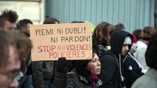 A Rennes, lors d'une manifestation, le 8 novembre 2014. (DAMIEN MEYER / AFP)