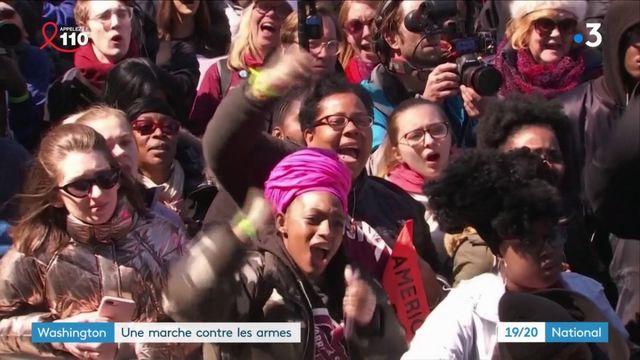 Etats-Unis : mobilisation massive contre les armes