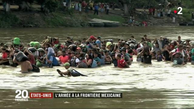 États-Unis: Donald Trump veut envoyer l'armée à la frontière mexicaine