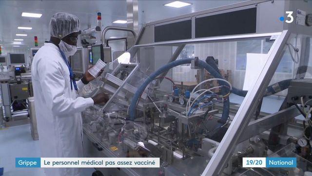 Grippe : le personnel soignant n'est pas assez vacciné