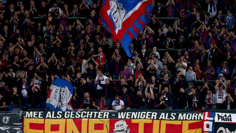 Les supporters du FC Bâle ne seront pas du voyage à Saint-Etienne. (KIERAN MCMANUS / BACKPAGE IMAGES LTD)