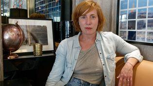 La danseuse, comédienne, scénariste, réalisatrice Andréa Bescond à Paris le 14 septembre 2020 (DANIEL FOURAY / MAXPPP)