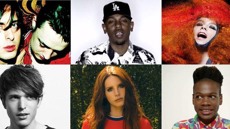 Libertines, Kendrick Lamar, Bjork, James Blake, Lana Del Rey, Shamir : on attend leurs albums en 2015.  (DR)