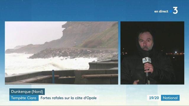 Tempête Ciara : fortes rafales sur la côte d'Opale, risques d'inondations dans la Marne