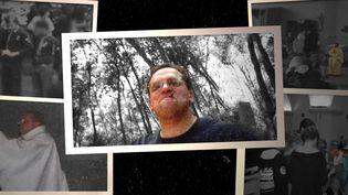 """Photos non datées du père Bernard Preynat collectées par """"Complément d'enquête"""" de France 2 en avril 2016. (""""COMPLEMENT D'ENQUETE"""" / FRANCE 2 / BAPTISTE BOYER / FRANCEINFO)"""