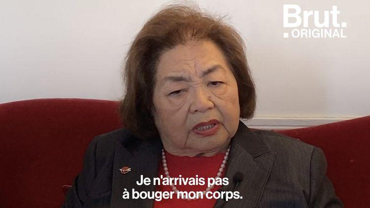"""VIDEO. """"Je savais que je faisais face à la mort"""", témoigne une survivante de la bombe atomique à Hiroshima (BRUT)"""