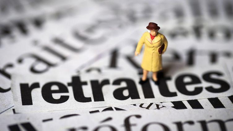 """Un """"accord de principe"""" a été trouvé lors des négociations sur l'avenir des retraites complémentaires, vendredi 16 octobre 2015. (JOEL SAGET / AFP)"""
