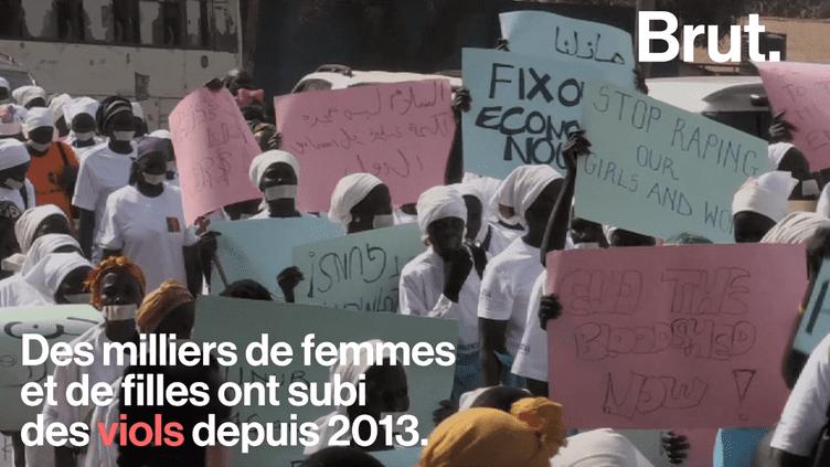 Au Soudan du Sud, une manifestation silencieuse pour dénoncer les horreurs faites aux femmes (BRUT)