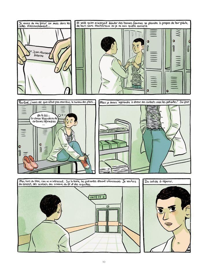 """""""Le Choeur des femmes"""" (page 10), d'Aude Mermilliod avril 2021 (LE LOMBARD)"""