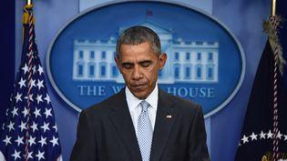 Barack Obama, le 13 novembre 2015. (JIM WATSON / AFP)