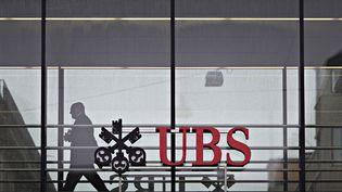 La banque suisse UBS, le 22 janvier 2018 à Zurich (Suisse). (MICHELE LIMINA / AFP)