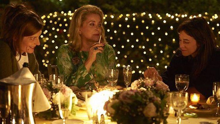 Catherine Deneuve, Charlotte Gainsbourg, Chiara Mastroianni - mère et fille dans trois coeurs de Benoît Jacquot  (Wild Bunch Distribution)