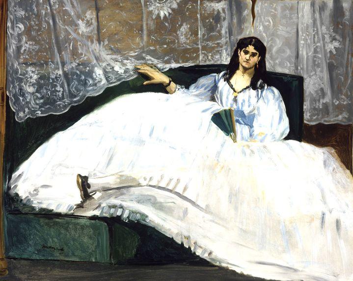 "Edouard Manet, ""Jeanne Duval"", 1862, Budapest, Museum of Fine Arts  (Photo © Museum of Fine Arts Budapest, 2018, photo by Csanád Szesztay)"