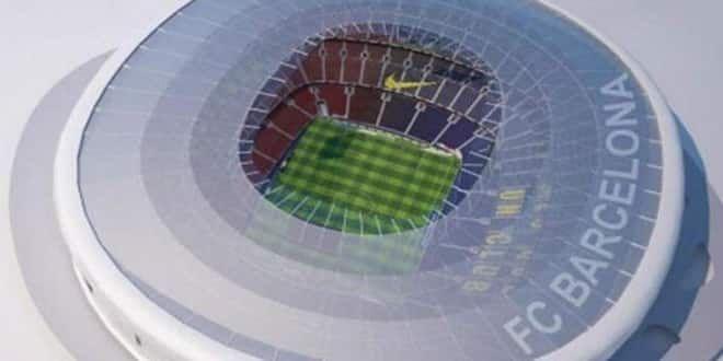 Le nouveau Camp Nou comme il devrait être en 2021