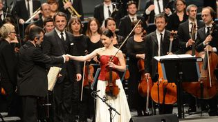 Concert de clôture avec la violoniste Fanny Clamagirand et l'orchestre Lamoureux  (Marc Roger)