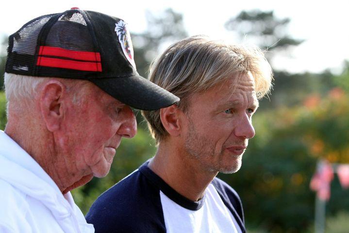 Lionel et Laurent Horter, en 2015. (THIERRY GACHON / MAXPPP)