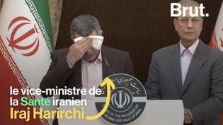 """VIDEO. Coronavirus : """"J'aimerais revenir parmi vous dans les prochains jours"""", a confié le vice-ministre iranien (BRUT)"""