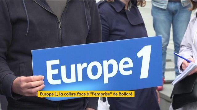 Médias : Europe 1 craint la mainmise de Vincent Bolloré