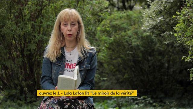 """VIDEO. Lola Lafon lit """"Le Miroir de la vérité"""" du poète Jean-Pierre Claris de Florian"""
