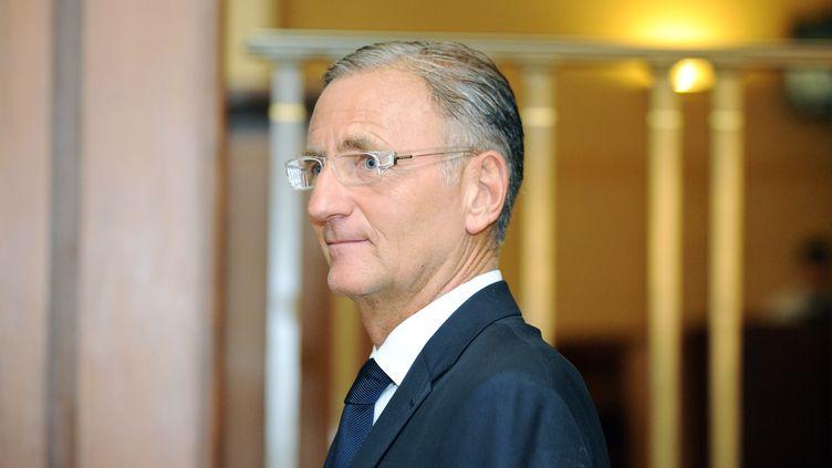 Le sénateur socialiste André Vallini, le 27 septembre 2011 à Paris. (JOHANNA LEGUERRE / AFP)