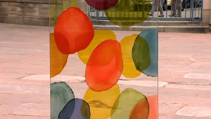 Message coloré  (France3/Culturebox)