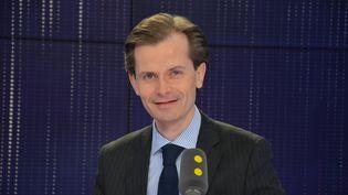 Guillaume Larrivé, député de l'Yonne à l'Assemblée nationale. Secrétaire général délégué des Républicains.  (JEAN-CHRISTOPHE BOURDILLAT / RADIO FRANCE)