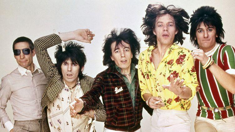 """Une photo de l'exposition """"Exibitionism : The Rolling Stones"""" qui démarre le 5 avril 2016 à la Saatchi Gallery de Londres.  (Rolling Stones Archive)"""