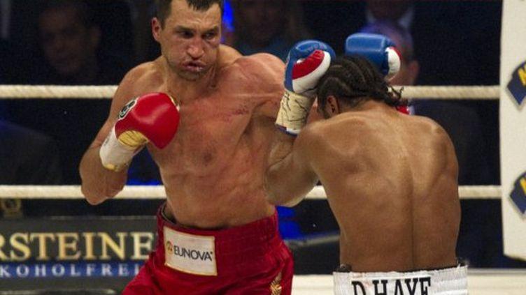 Vladimir Klitschko (ODD ANDERSEN / AFP)