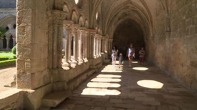 L'abbaye de Fontfroide dans l'Aude. (F. Jobard / France Télévisions)