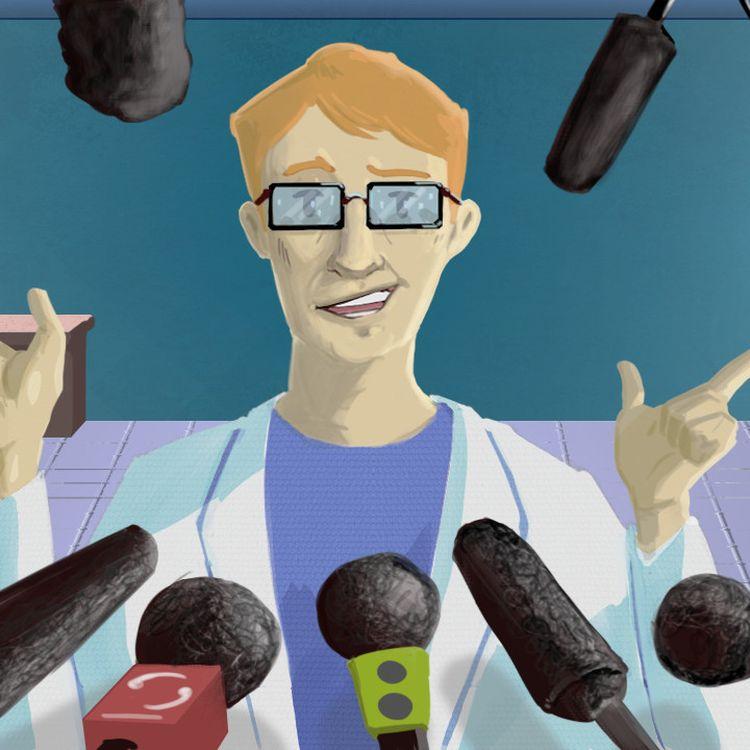 La communication prématurée de certains chercheurs peut s'expliquer par l'urgence de trouver un remède, mais certains scientifiques dénoncent une querelle d'égo. (PIERRE-ALBERT JOSSERAND / FRANCEINFO)
