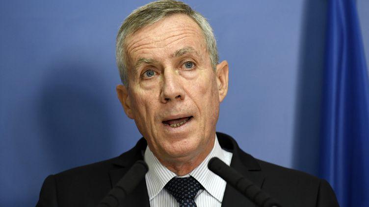 Le procureur de Paris François Molins, le 10 septembre 2017. (BERTRAND GUAY / AFP)