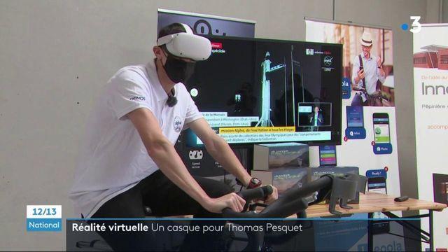Montpellier : une entreprise crée un casque de réalité virtuelle pour Thomas Pesquet