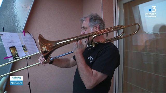 Belfort : des concerts de trombone au balcon pour remercier les soignants