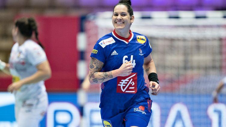 La joueuse Alexandra Lacrabere. (HENNING BAGGER / RITZAU SCANPIX)