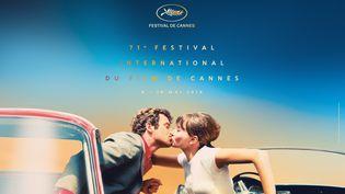 71ème Festival de Cannes (© Maquette : Flore Maquin - Photo : Pierrot le fou © Georges Pierre)