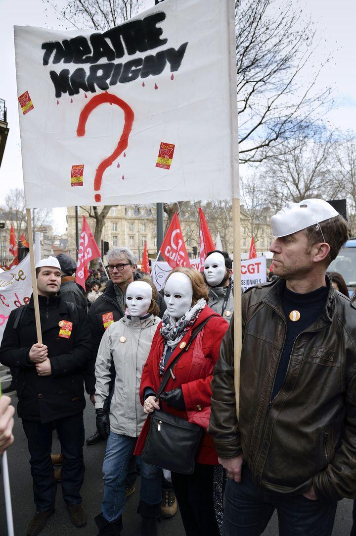La marche pour la culture  (Eric Feferberg/AFP)